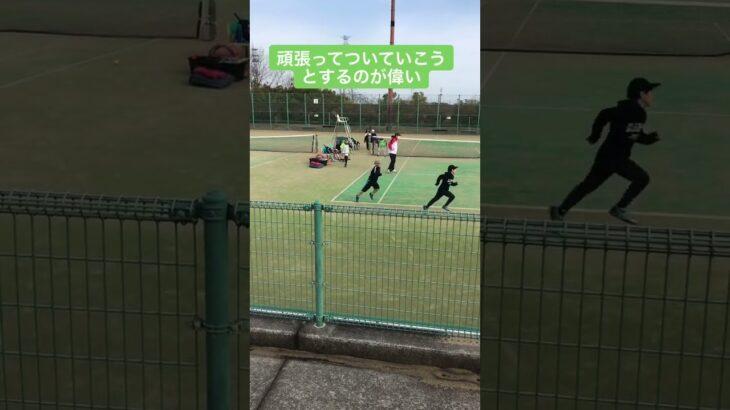 2/27 朝練のアップ #テニス #tennis #練習動画 #がんばれ