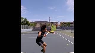 【テニス】ナダルに憧れてる25歳のトップスピン【nadal top spin】 【Shorts】
