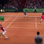 Federer (フェデラー) – Wawrinka (ワウリンカ) VS Gasquet (ガスケ) – Benneteau (ベネトー)