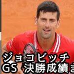 (全仏優勝記念)ジョコビッチ 選手のGS(グランドスラム)決勝での成績まとめ!!!