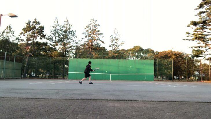 陰キャのテニスの壁打ち Japanese Nerd's Tennis Practice on The Wall
