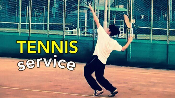 Jurong Idol ♥️  Tennis first service ② TAKAIDO diamond tennis club テニス サーブ 高井戸ダイアモンドテニスクラブ