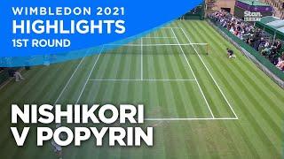 Kei Nishikori – Alexei Popyrin – Match Highlights