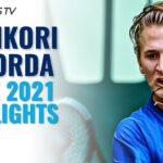 Kei Nishikori vs Sebastian Korda | Halle 2021 Highlights