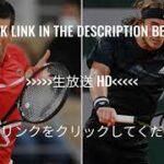 🔴【ライブ配信】 N.ジョコビッチ VS S.チチパス 「全仏オープン決勝2021」 のテレビ放送・インターネットライブ中継