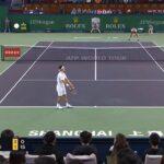 Nishikori (錦織) VS Federer (フェデラー)