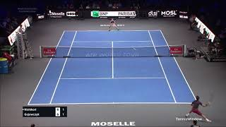 Nishikori (錦織) VS Gojowczyk (ゴヨフチク)