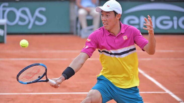 錦織圭 Nishikori vs ミーシャ・ズベレフ テニス