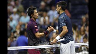 錦織圭 Nishikori vs Djokovic ノバク・ジョコビッチ テニス