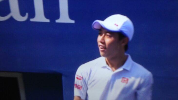 Nishikori vs Djokovic on 2014 US Open SF / 錦織 vs ジョコビッチ 2014 US Open 準決