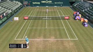 R.ベランキス vs 錦織 圭 2021.06.15  [ATP シングルス:ハレ (ドイツ), グラス]