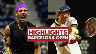 Rafael Nadal vs Kei Nishikori 錦織圭 Highlights  Barcelona 2021