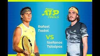 ラファエル・ナダル Rafael Nadal vs Stefanos Tsitsipas ステファノス・チチパス