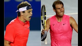 Rafael Nadal ラファエル・ナダル vs Taylor Fritz Highlights