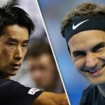 Roger FEDERER VS Yuichi SUGITA 杉田 祐 テニス ロジャー・フェデラー