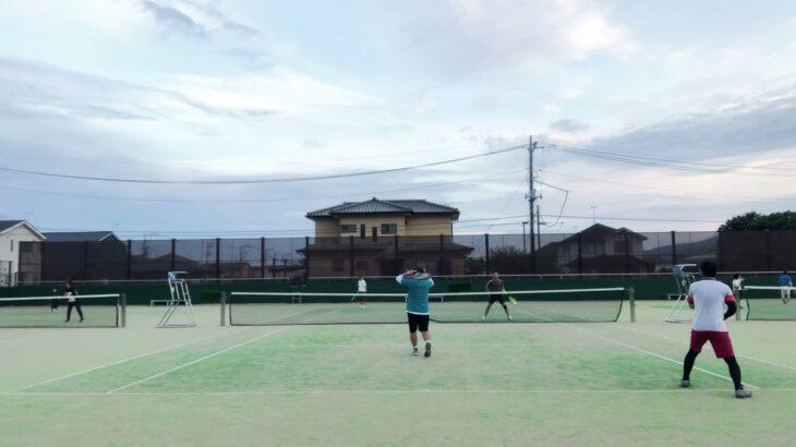 【TENNIS】第3回SSダブルス練習試合(小田原テニスガーデン)