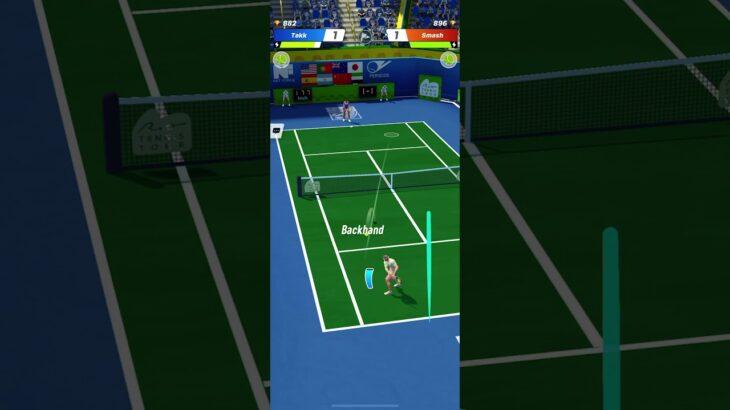 たけしがアホみたいにいつもやってるテニスのゲーム「Tennis Clash」おさむさんもやろうよ