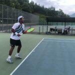 テニスフォアハンドストローク (Tennis fore hand)