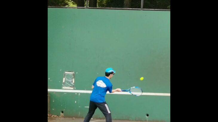 【卓球の反射神経】も【テニス】で鍛えることが出来る❗❓(tabletennis❌tennis)#Shorts