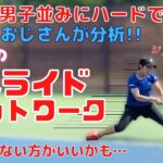 【テニス】ハードコートでも男子並みに滑る女子をにしおじさんが分析したら、真似しない方が良さそうだった!(笑)