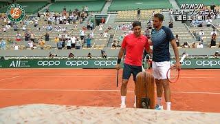 【マッチハイライト】マリン・チリッチ vs ロジャー・フェデラー/全仏オープンテニス2021 2回戦【WOWOW】