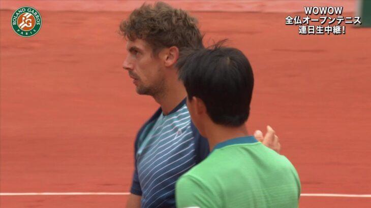 【マッチハイライト】錦織 圭 vs ヘンリー・ラクソネン/全仏オープンテニス2021 3回戦【WOWOW】