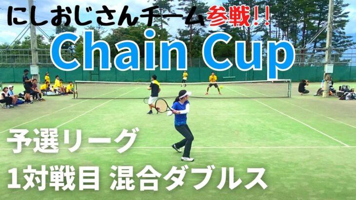 【テニス】予選リーグ 1対戦目<混合ダブルス>服ピタ/すがむーペア!!