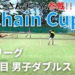 【テニス】予選リーグ 2対戦目<男子ダブルス>にしおじさん/服ピタペア!!