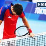 テニス ジョコビッチ3位決定戦で敗れメダルならず