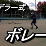 【テニス】ファンがフェデラーのボレーの打ち方を真似してみた【Copying Federer Volley】