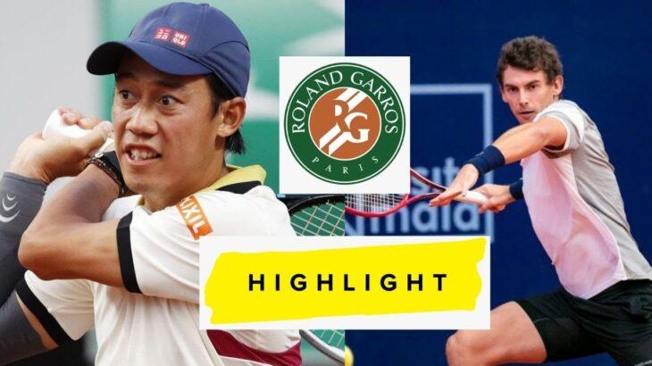 Kei Nishikori vs Alessandro Giannessi 錦織 圭 FULL Highlights 2021