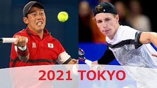 Kei Nishikori [ 錦織 圭 ] vs Ilya Ivashka 2021 年夏季オリンピック