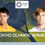 【🔴】LIVE【ライブ配信】 錦織圭 vs アンドレイ・ルブレフ 「東京オリンピック2020テニス」 のテレビ放送・インターネットライブ中継