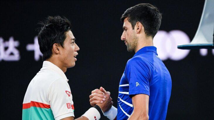 Novak Djokovic VS Kei Nishikori 錦織 圭