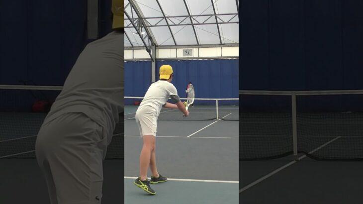 【テニス】理想的なポイントの取り方☺️ #Shorts