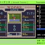 Speedrun   Smash Tennis, Tournament Mode, Singles, 58:29 [ RTA   スーパーファミリーテニス ]