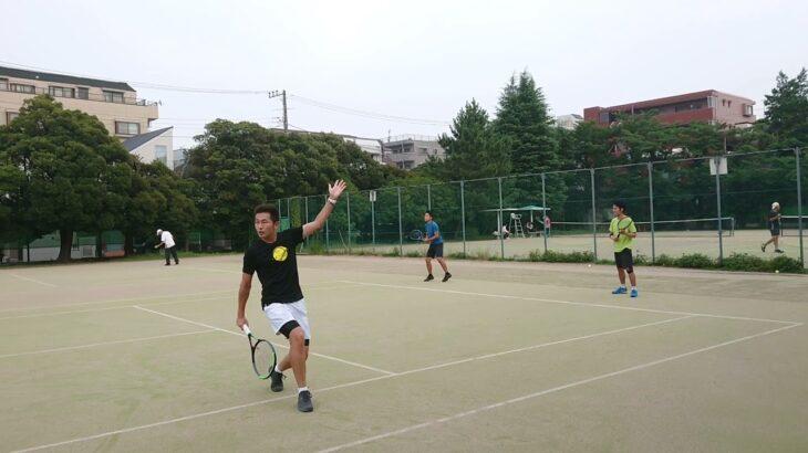 Team Tennis Trigger 練習風景⑩