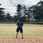 Team Tennis Triggerシングルス練習会①