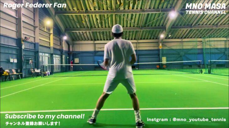 【Tennis】 Roger Federer charenge !  only rarry 【18 07 2021】