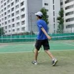 【Tennis テニス】シングル試合(ごぼう、仙人、毒舌)Single match(Burdock, Hermit, Poisonous tongue)