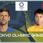 錦織圭 VS ノバク・ジョコビッチ Live|| 東京五輪 テニス 男子 3次ラウンド 7月29日