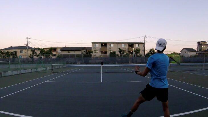 【テニス】バックハンド ダウンザライン!! 【backhand down the line】 【錦織圭】 【Kei Nishikori】