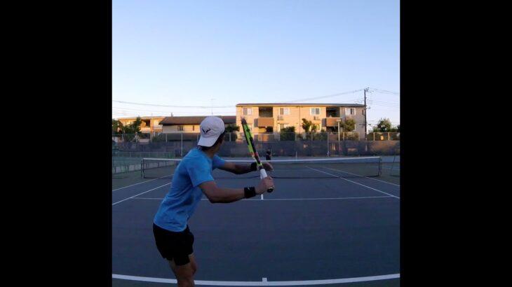 【テニス】見たら癖になるドロップショット!! 【drop shot】 【Shorts】