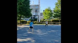【テニスあるある】絶対に○○がお得だと思い、ボレーボレーする❓❓(tennis)#Shorts