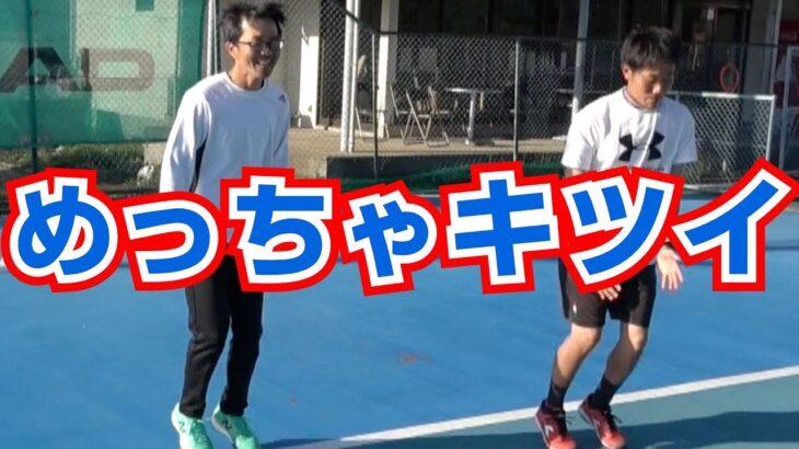 【テニスのフットワーク】その場で鍛えるアジリティトレーニング