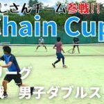 【テニス】予選リーグ 最終戦<男子ダブルス>にしおじさん/ソルトペア!!
