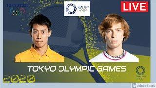 🔴【ライブ配信】 錦織圭 vs アンドレイ・ルブレフ 「東京オリンピック2020テニス」 のテレビ放送・インターネットライブ中継