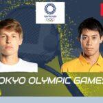 🔴【錦織圭 vs I・イバシカ】 3回戦 東京オリンピック2020 テニス 生中継 テレビ放送 インターネット放送