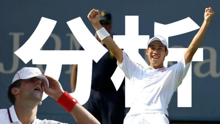 【テニス】2014年全米オープン準決勝・錦織圭vsジョコビッチの試合を解説