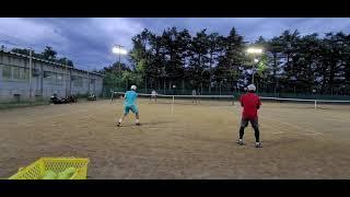 【テニス】ボレスト②全日本ベテランテニス練 湘南ローン202108 tennis